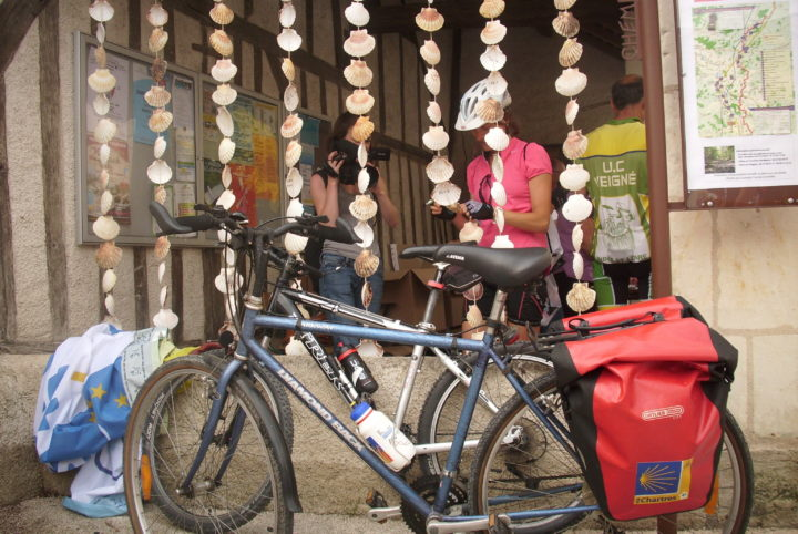 Saint Jacques à vélo en région Centre-Val de Loire