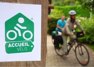 La signalisation Accueil Vélo