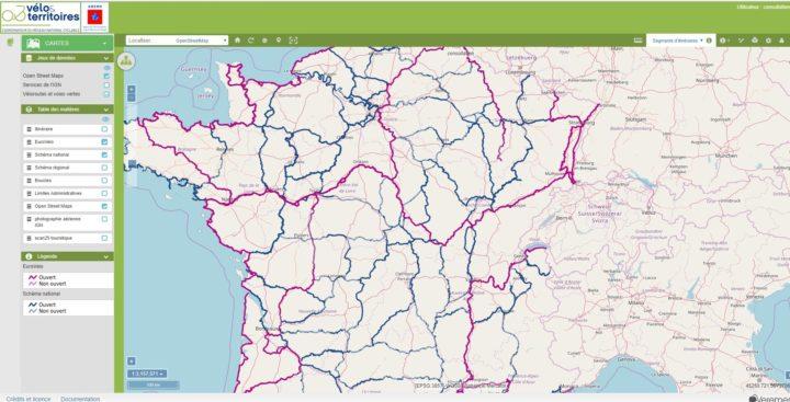 Capture d'écran WebSIG