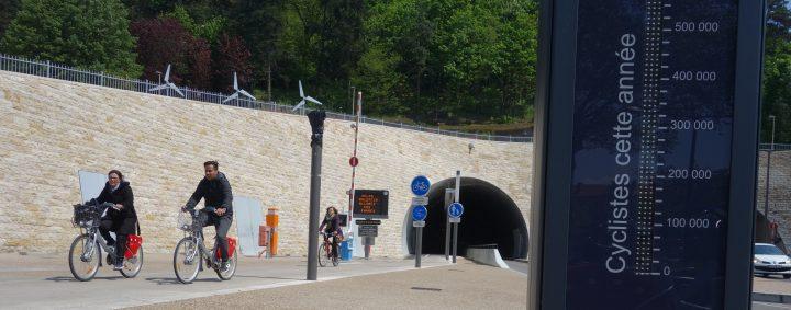 Évaluation des fréquentations vélos à Lyon via les compteurs vélos