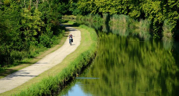 Fontet, Canal des Deux Mers, dep33, Aquitaine, France