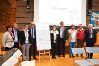 Signature de la déclaration Les territoires à vélo