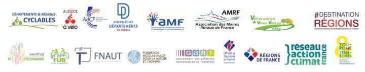 Bandeau logos signataires de la Déclaration