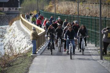Véloroute voie verte du Léman au Mont-Blanc