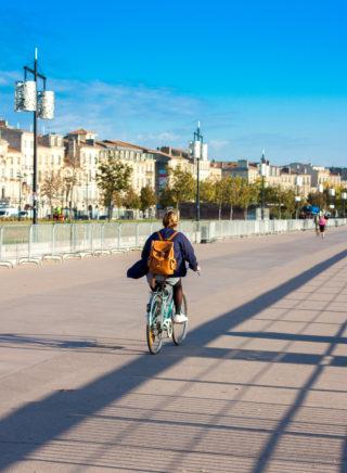 Tour de Gironde à vélo - Bordeaux