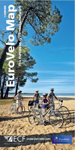 Map cover EuroVelo carte 2017