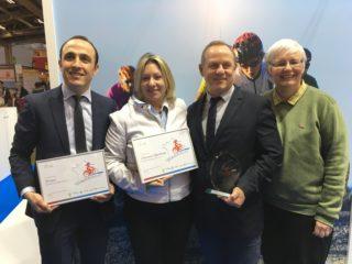Remise trophée Destination Vélo 2017
