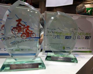 Remise trophées Destination & Iitinéraire Vélo 2017