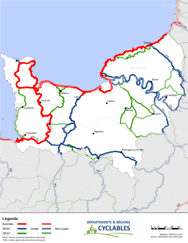 Itinéraires Normandie