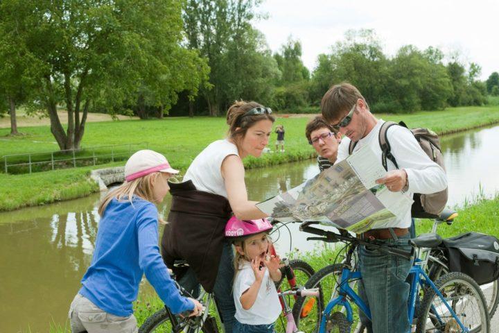 A vélo le long de la Saône