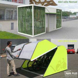 Abri Plus - Abris vélos Nomad + Cooma