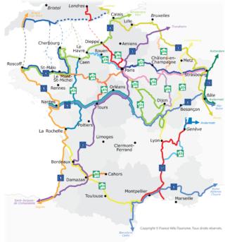 Carte France Vélo Tourisme