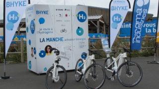 vélo électrique à hydrogène dans la Manche