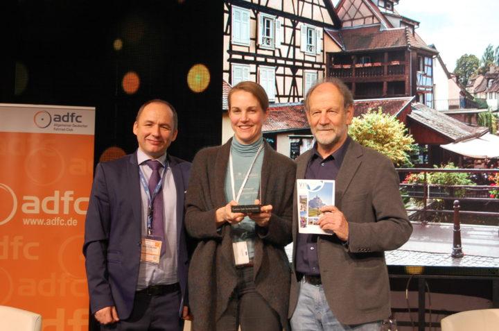Les DRC reçoivent le prix EuroVelo du tourisme à vélo pour la France