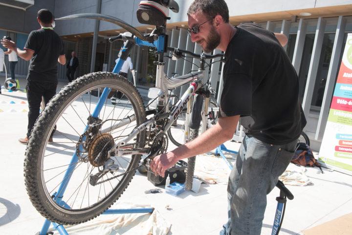 Journée mobilité à Annecy