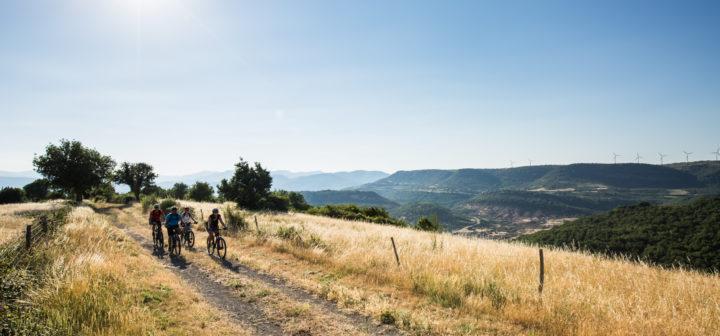 La Grande Traversée du Massif Central dans l'Aveyron © O. Octobre / GTMC VTT