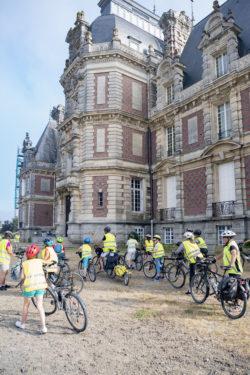 Groupe scolaire de Nantes en voyage à vélo@DDrouet