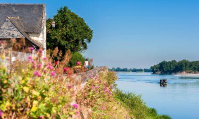 Le Thoureil sur La Loire à Vélo® et La Vélo Francette® ©S. Gaudard