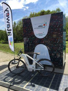station + vélo H2