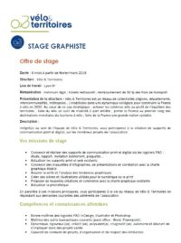 Offre de stage PAO