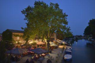 Restaurant, terrasses extŽrieures, musiciens