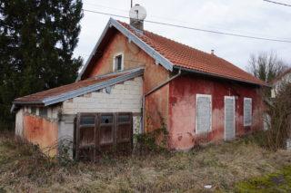 Maison éclusière inhabitable en DT Rhône-Saône @Yannis Vial