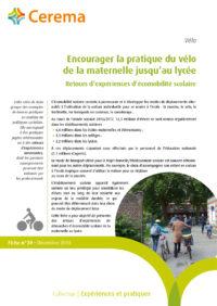 Encourager la pratique du vélo delamaternelle jusqu'au ly