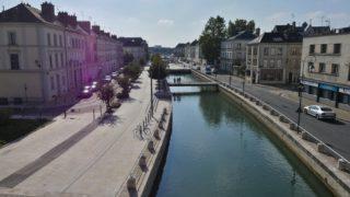 quai des Comtes de Champagne-Troyes