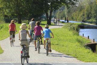lamotte Brebière, somme, canal, piste cyclable
