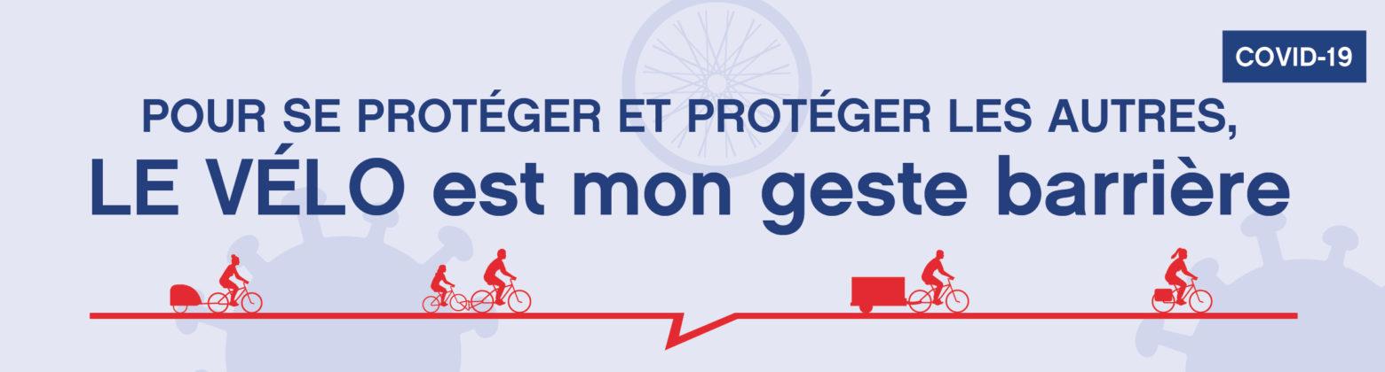Visuel vélo déconfinement site bandeau