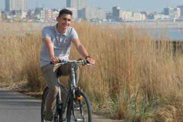 cyclistes sur le territoire de la Communauté Urbaine