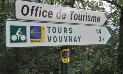 1_Panneau de signalisation Saint-Jacques à vélo_Laurent Savignac