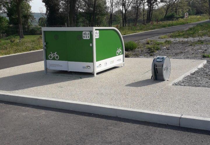 3_Box vélo à Chomérac ©Communauté d'agglomération Privas Centre-Ardèche