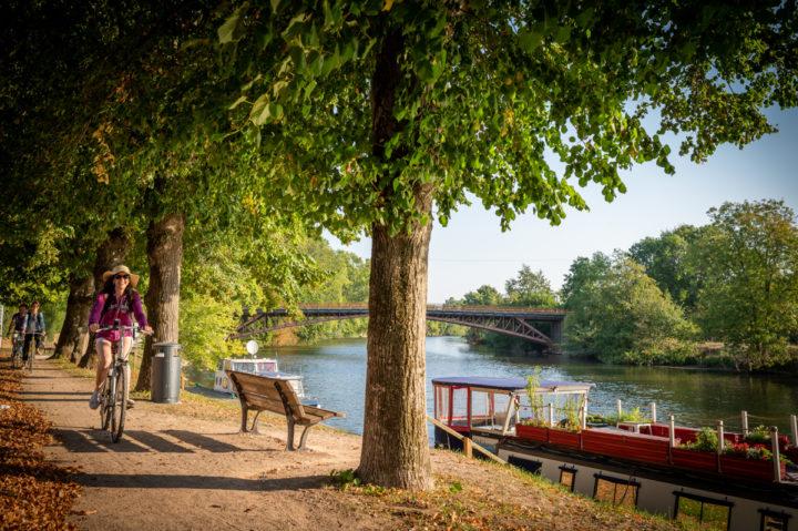 2_La Vélobuissonnière à Fillé ©Pascal Beltrami – Sarthe Tourisme